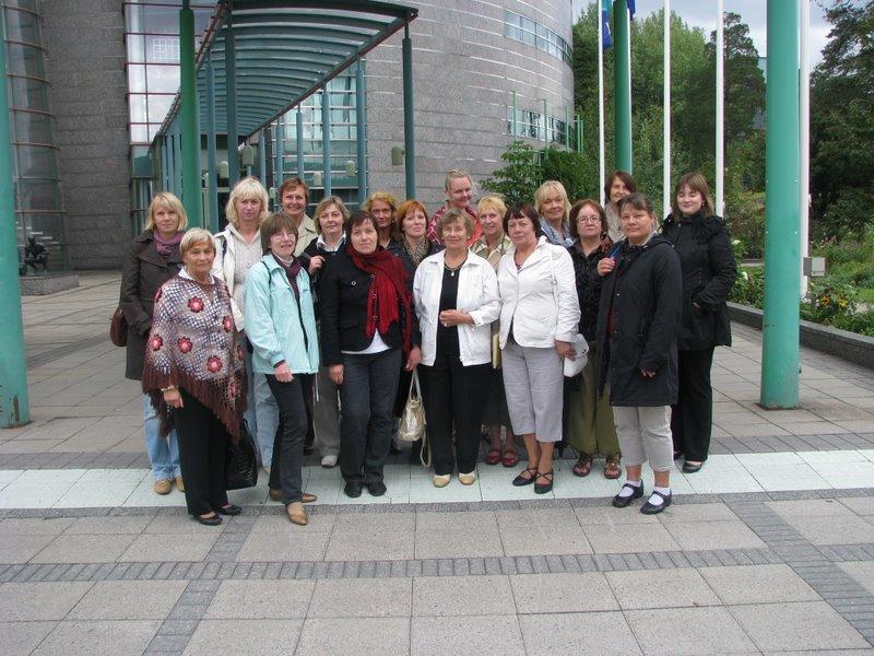 Soome keele õpetajate kultuurialane täienduskoolituskursus Helsingis
