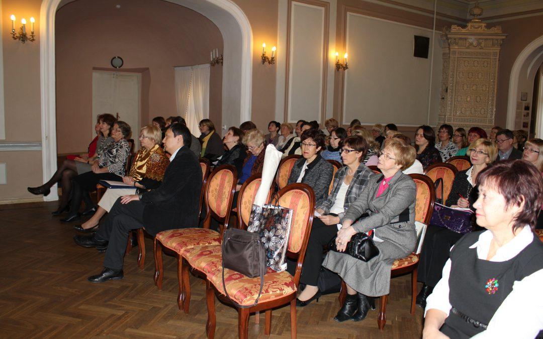 Vene  Keele Õpetajate Selts tähistas 15. aastapäeva