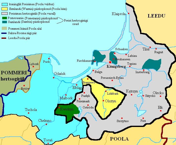 Reisimuljeid Põhja – Poola ja Preisimaa ringreisist