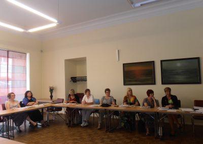 Aastakoosolekul osalejad.