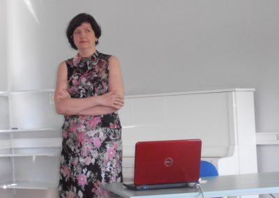 Töötoa läbiviija Anneli Tumanski