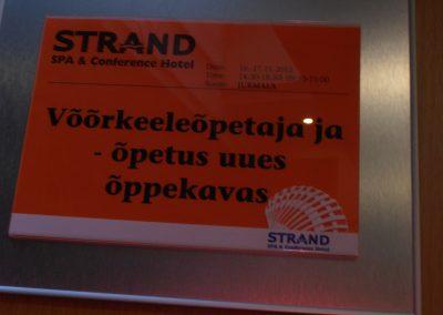 Koolitus toimus Strand hotellis
