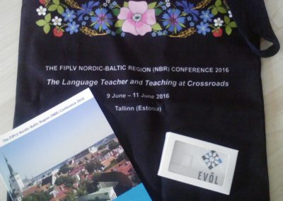 THE FIPLV NORDIC-BALTIC REGION (NBR) CONFERENCE 2016